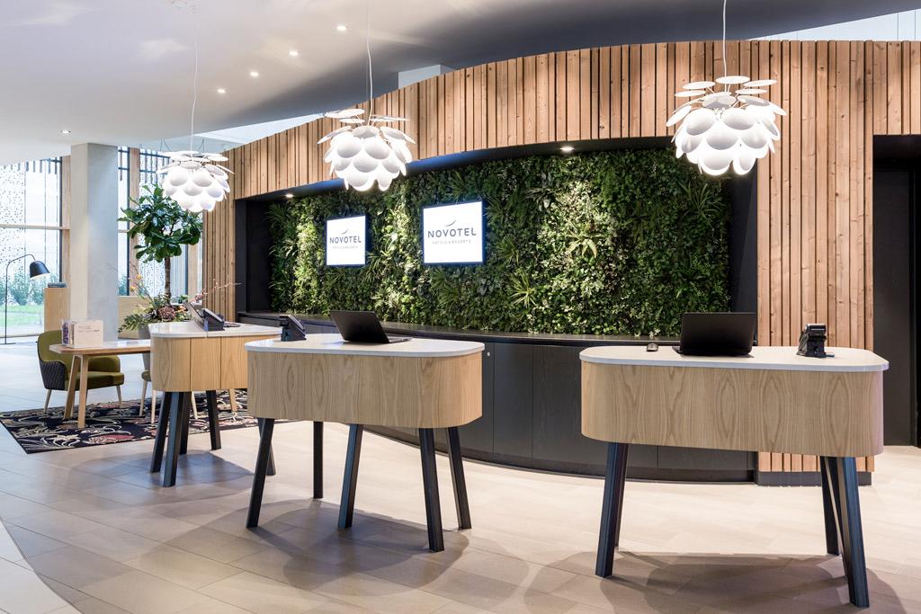 Lobby-Reception area