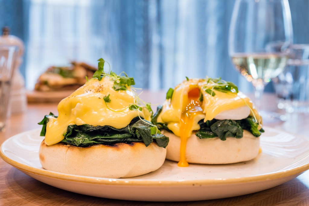 Florentine's home to the delicious Eggs Benedict!