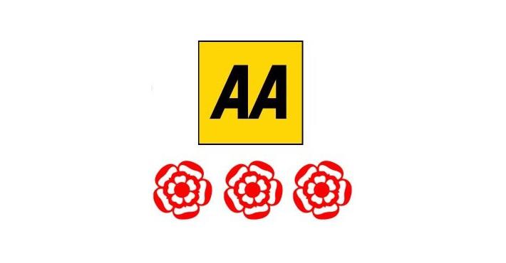 3 AA Rosettes