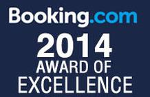 Booking.com Award of Excellence 2014