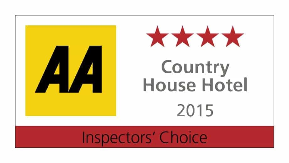 AA Four Red Star Inspectors Choice Country House Hotel