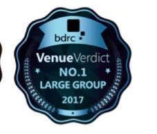 VenueVerdict No1 Large Group 2017