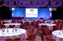 Extensive exhibition space at Park Plaza Hotels & Resorts in London
