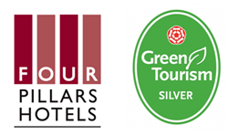 All six Four Pillars Hotels Awarded Silver by the Green Tourism Business Scheme