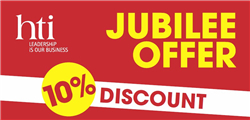 Jubilee Offer – 10% discount on meetings and conferences in May and June