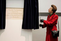 Princess Royal gives a Royal seal of approval to ArtsTwo at Queen Mary, University of London