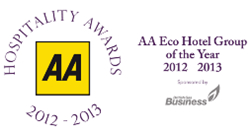 MACDONALD HOTELS & RESORTS NAMED 2012 – 2013 AA ECO-HOTEL GROUP OF THE YEAR