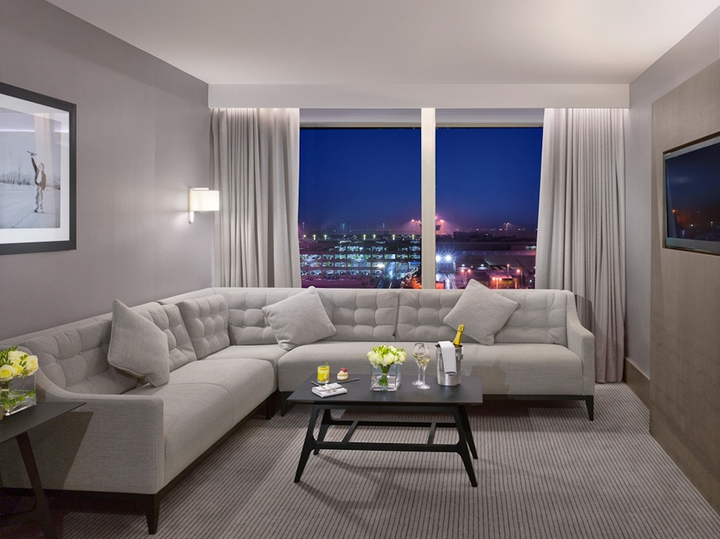 Executive Suites with Airport View