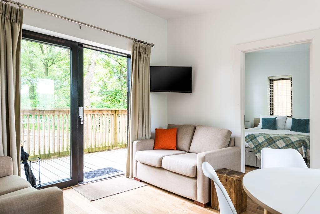 Woodland snug bedroom