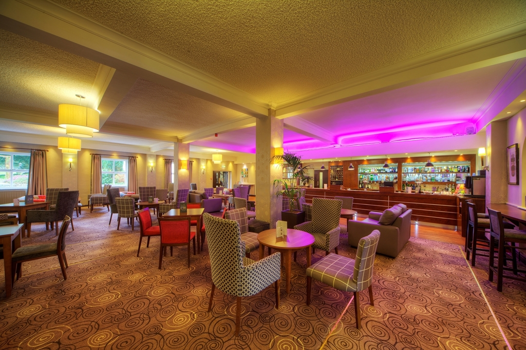 The Trafford Bar & Coffee Lounge at Hothorpe Hall