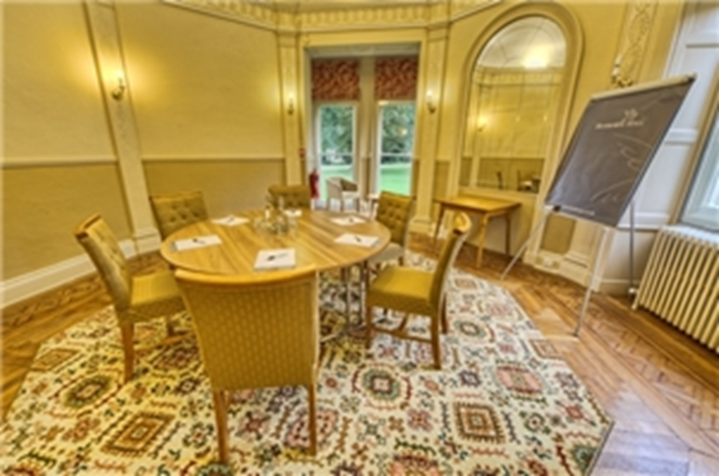 The Round Room at Hothorpe Hall