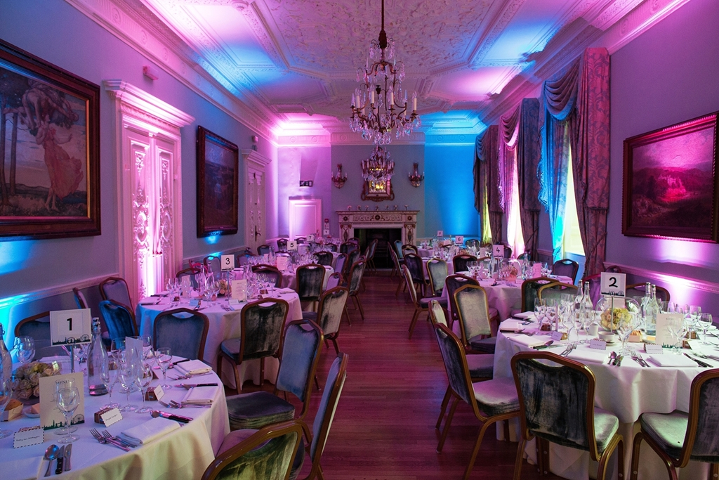 Long Drawing Room - Christmas party