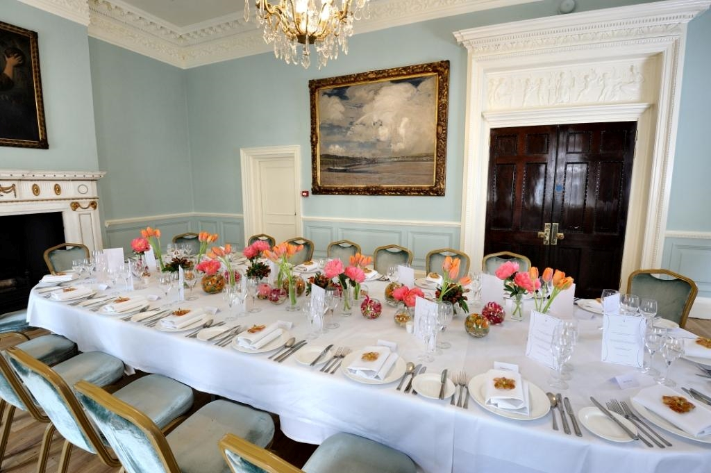 Dinner in Small Drawing Room