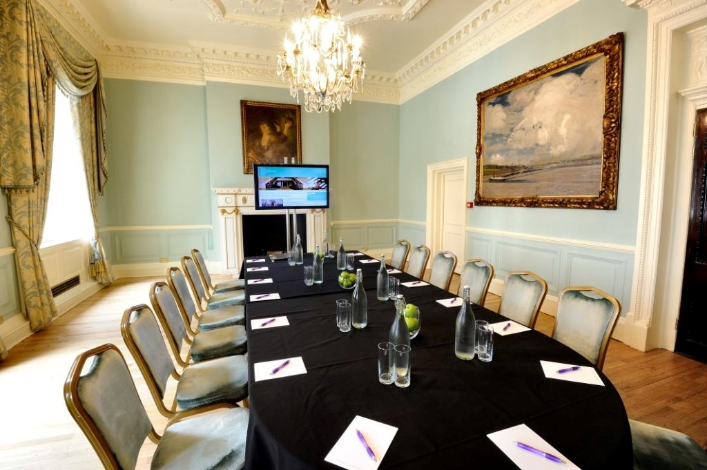 Meeting in Small Drawing Room