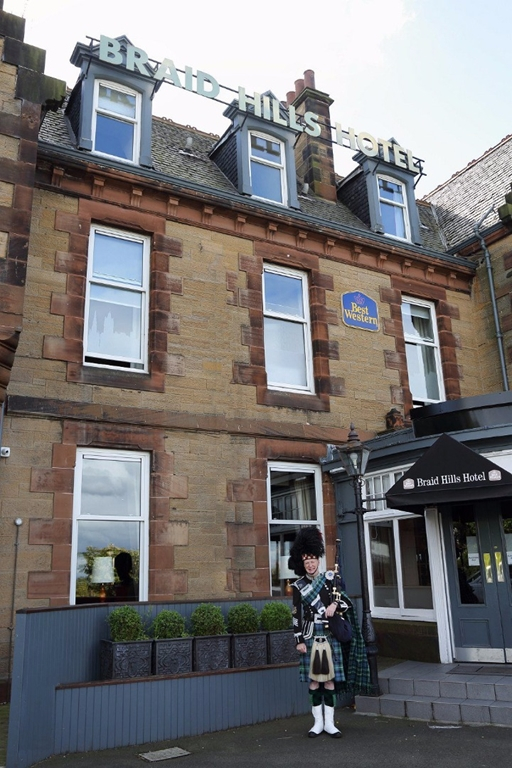 Traditional Scottish hotel