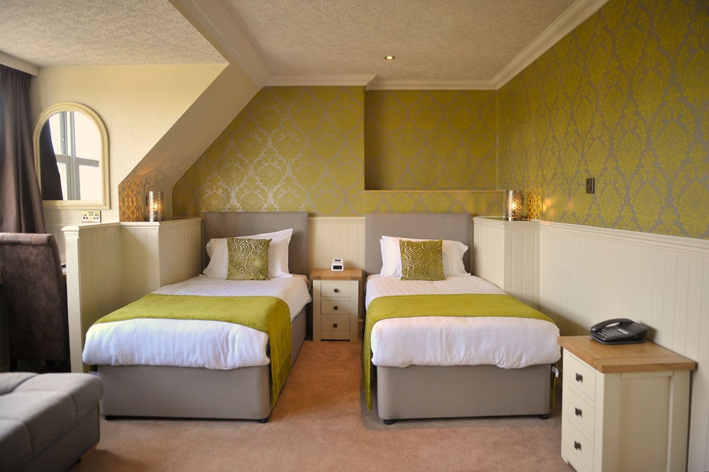 Twin bedrooms available