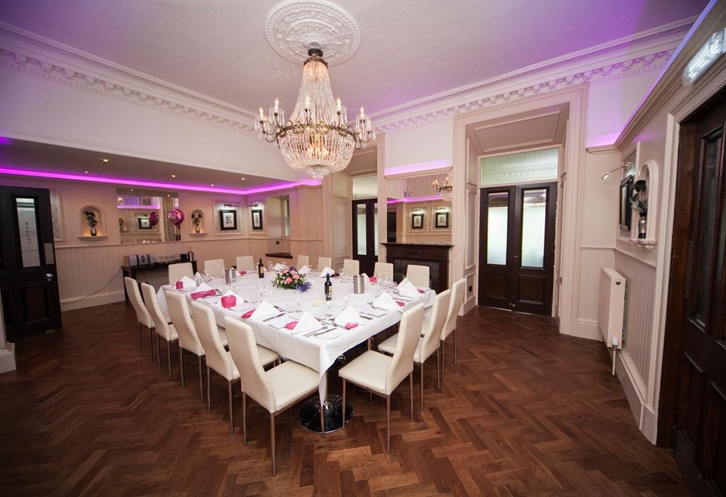 The Regent Suite celebration lunch