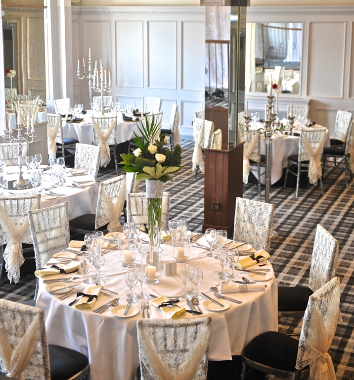 The Braid Suite, private dining for up to 140 guests
