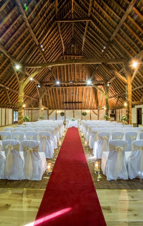 Hampshire Barn Civil Ceremony
