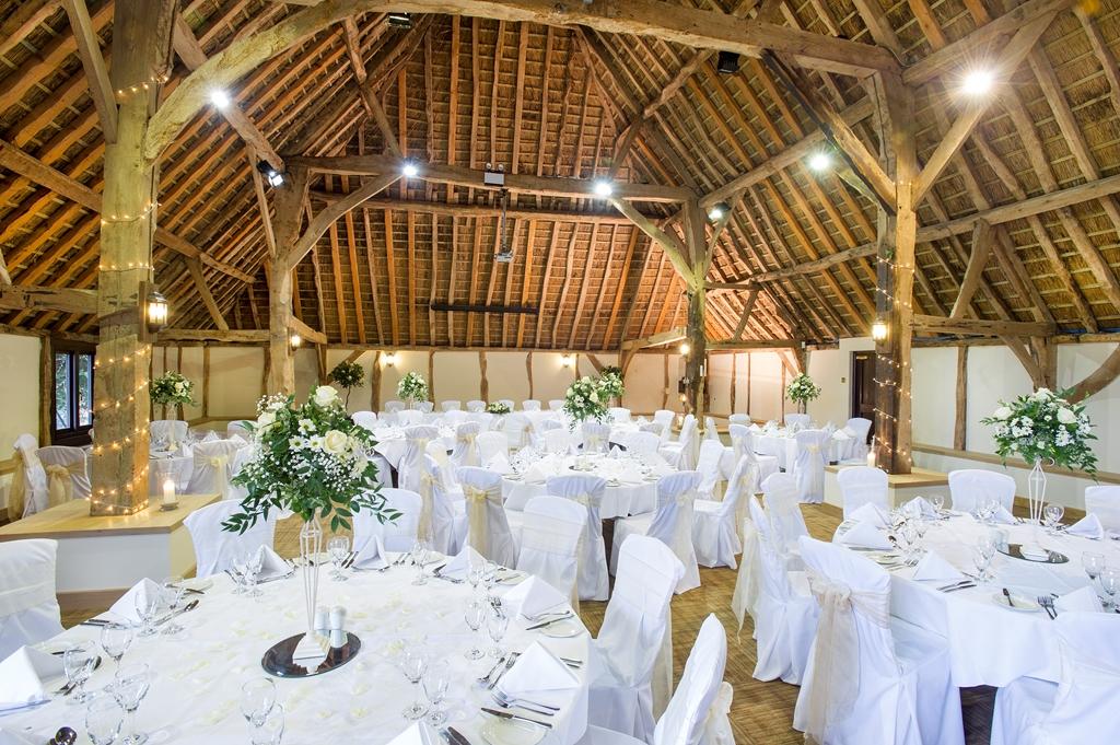 Hampshire Barn Wedding Breakfast