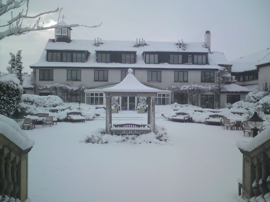Balliol Courtyard in the snow