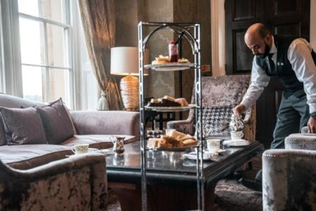 Afternoon tea in the Drawing Room