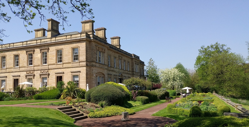 From the gardens of the Oulton Estate