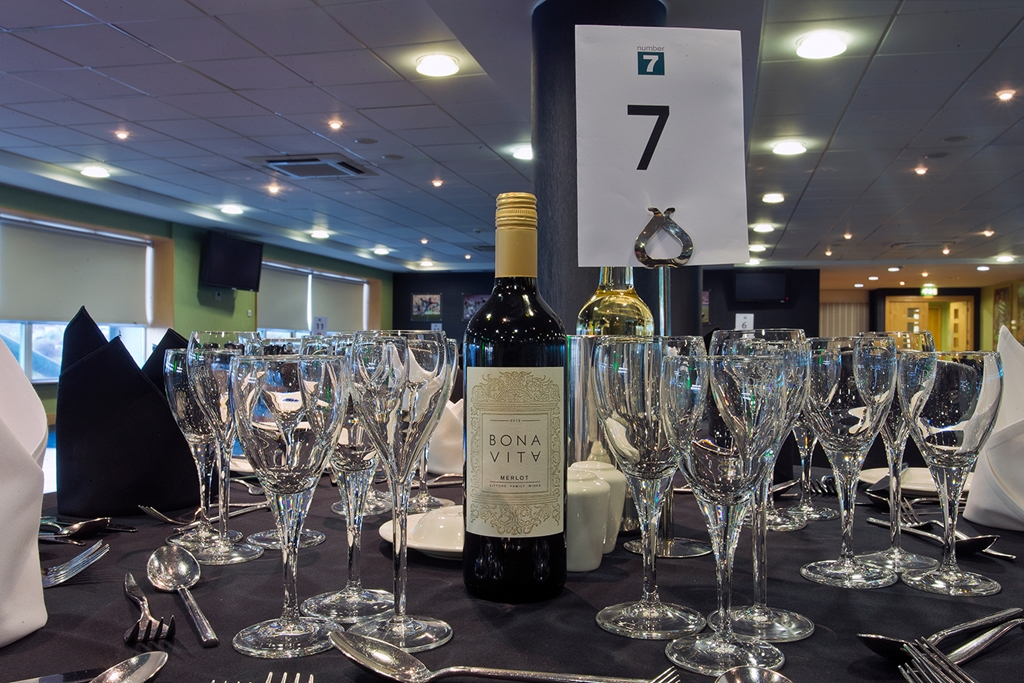 Number 7 - Table set up