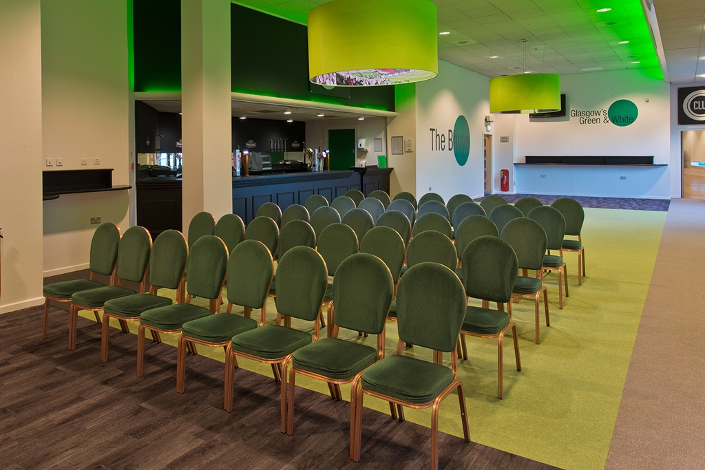North stand lounge 2 - theatre set up