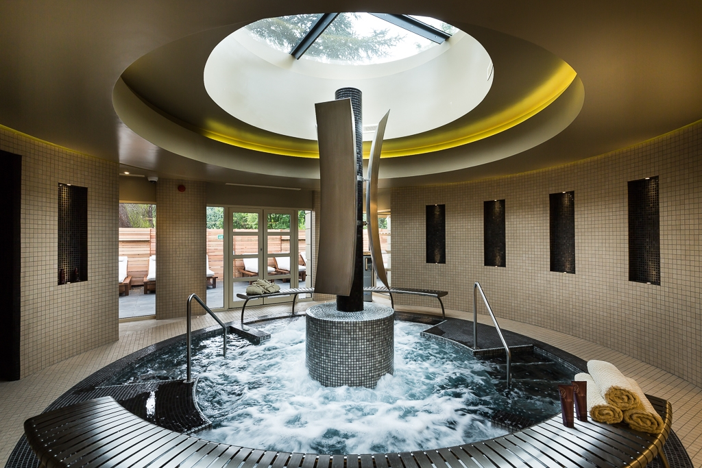 Hydrotherapy Pool in Spa