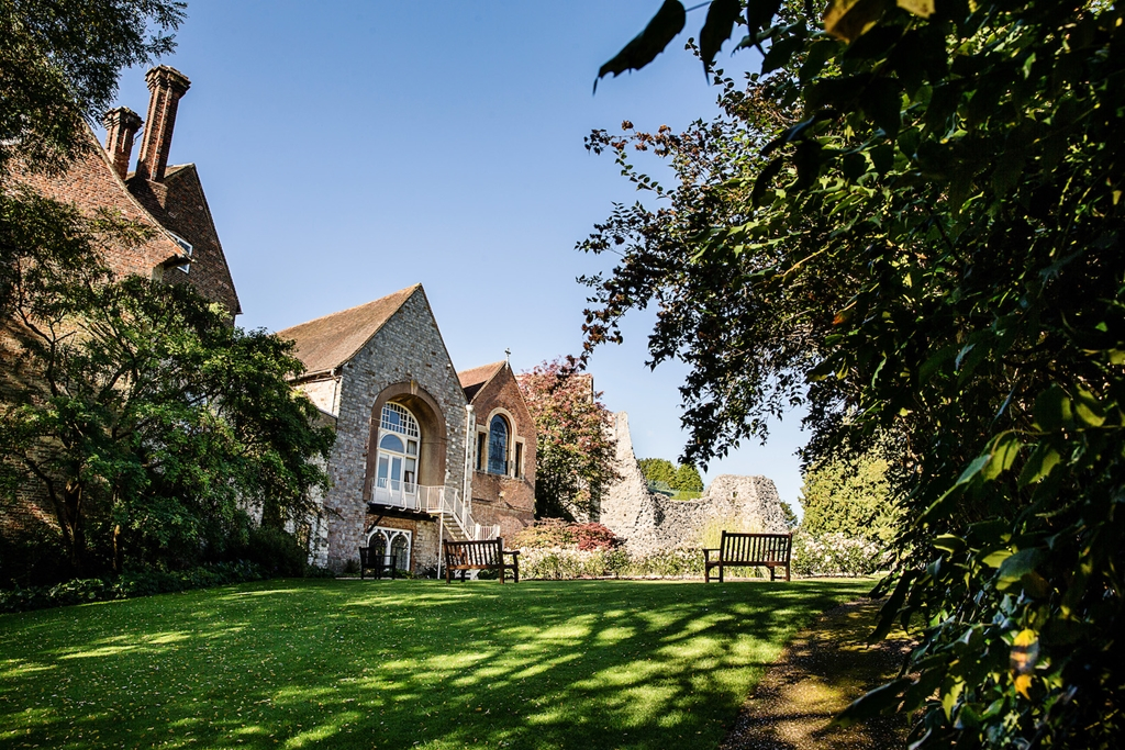 Farnham Castle Gardens