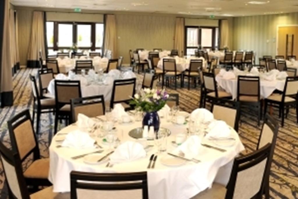 Suite 4 set for dinner