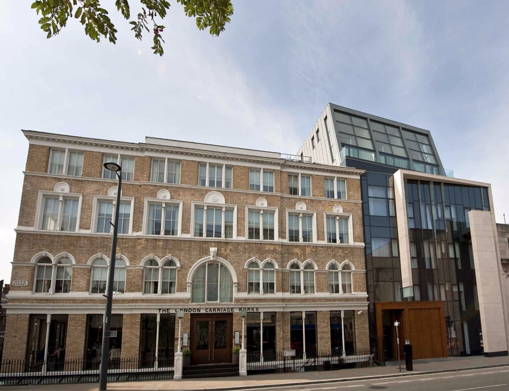 New extension at hope street hotel