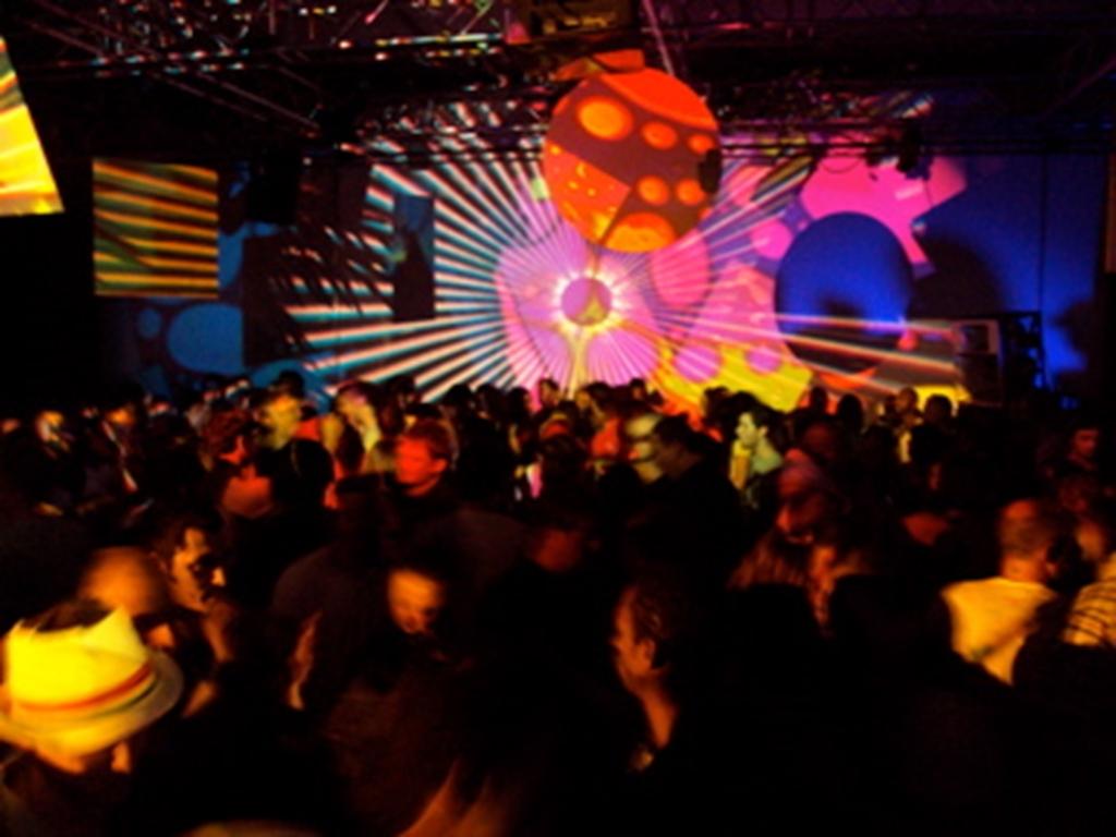 Warehouse parties in Venue 1