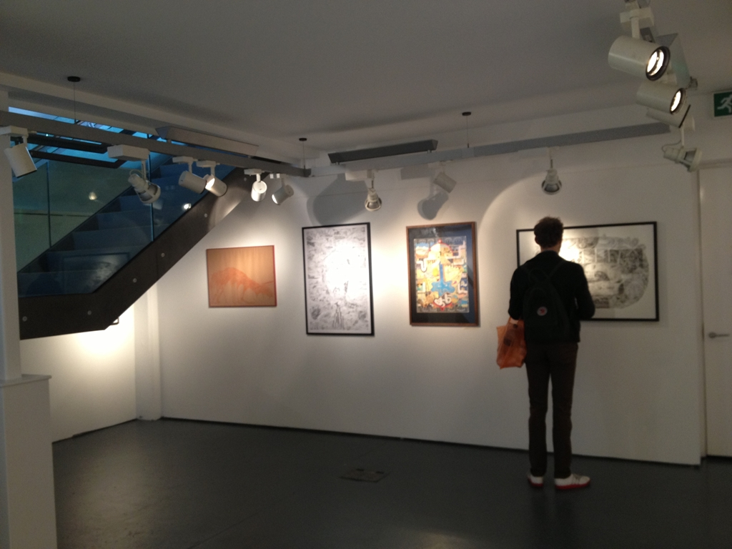 Lower Cafe Gallery