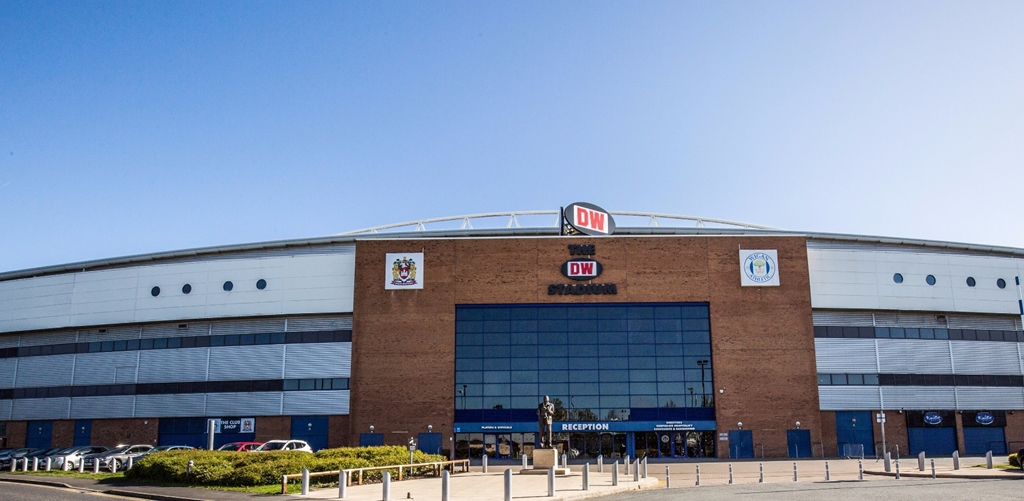 DW Stadium, Wigan, Greater Manchester