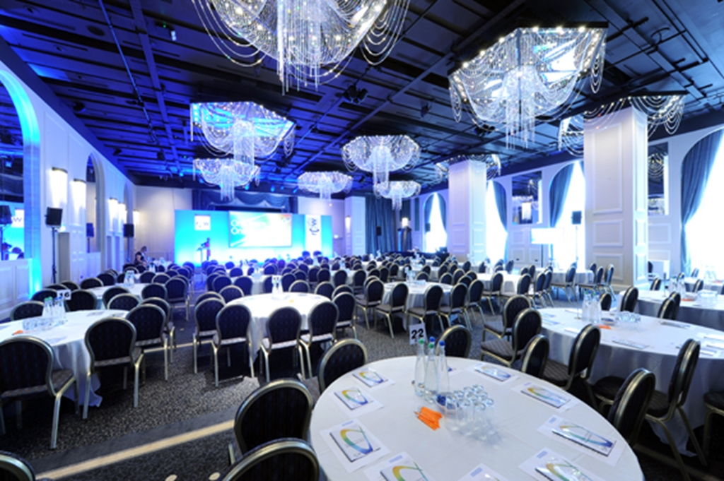 The International Suite - Conference set up