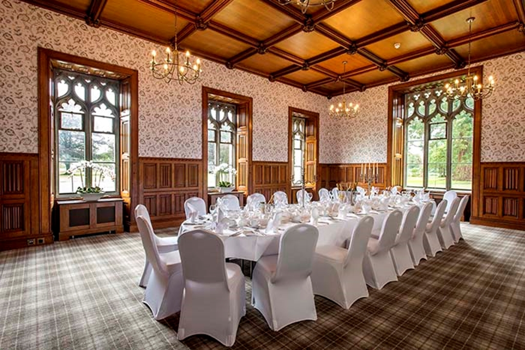 Oak Room - Dinner, Hensol Castle