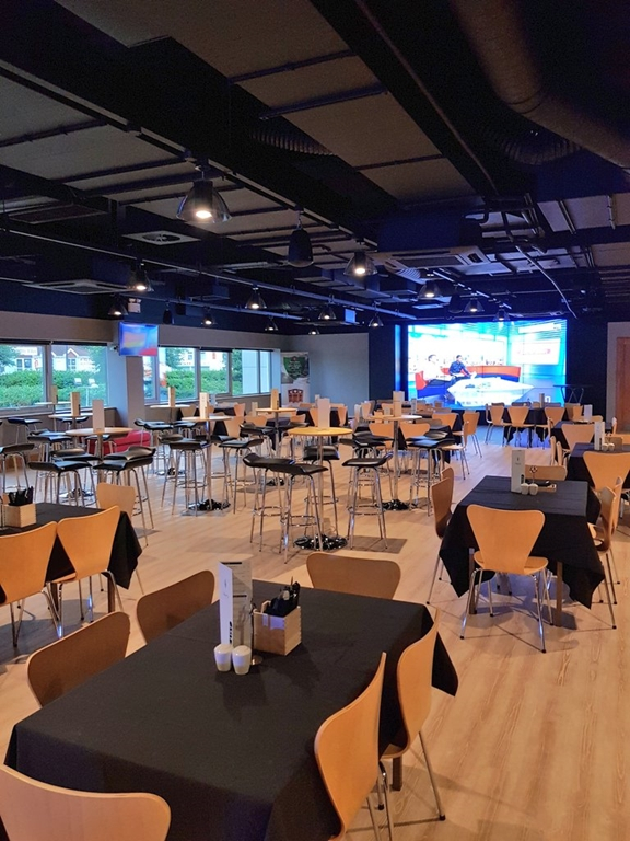Newly refurbished Morfa Lounge