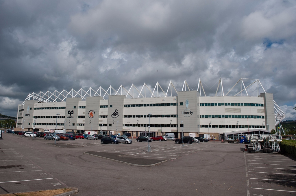 Stadium Exterior from West Stand Car Park