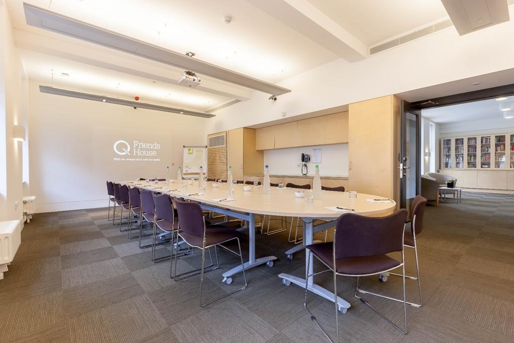Margaret Fell - Boardroom set up