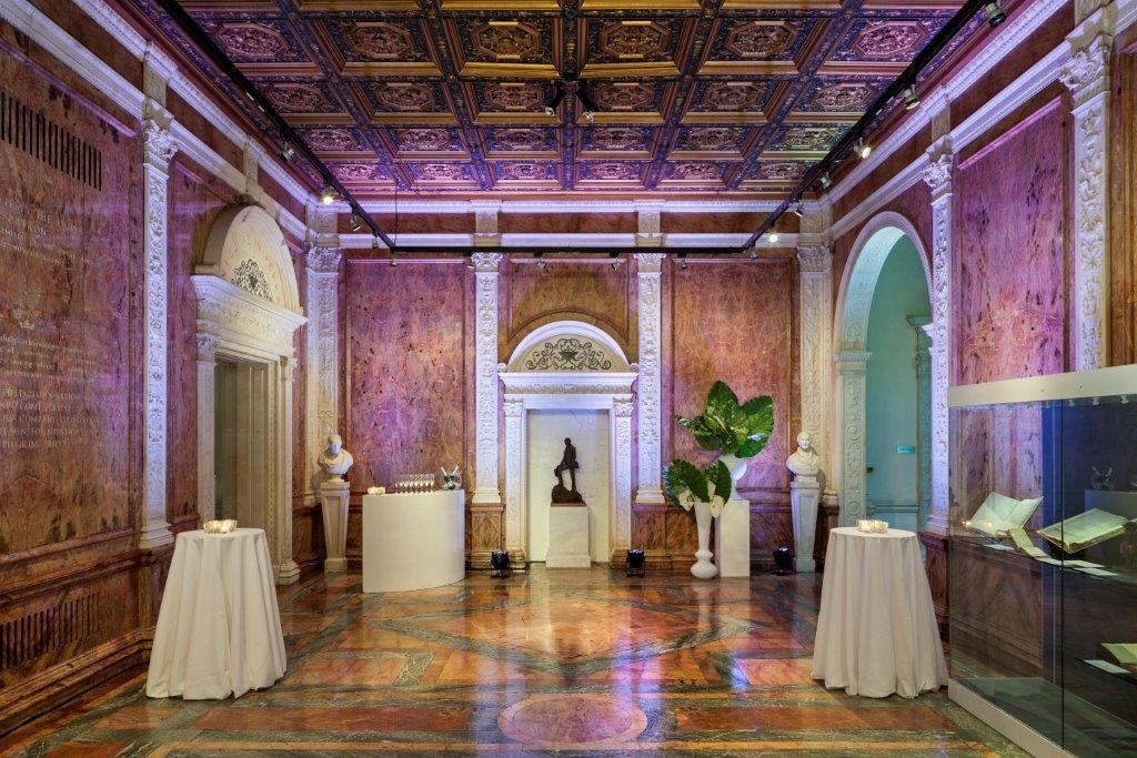 Marble Hall - reception with lights