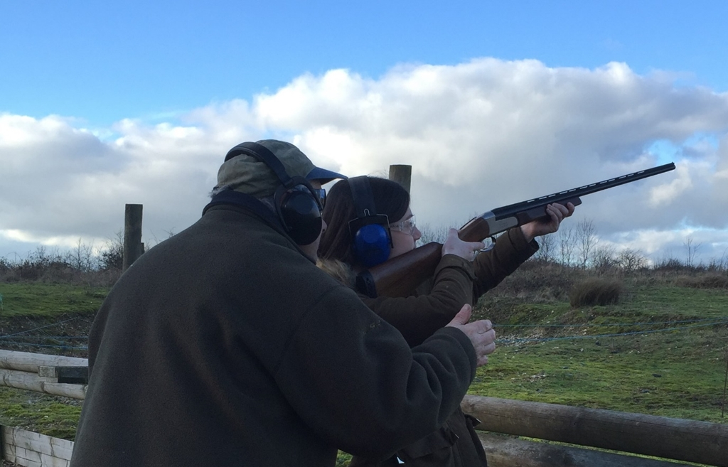 Clay shoot, one-to-one or group tuition