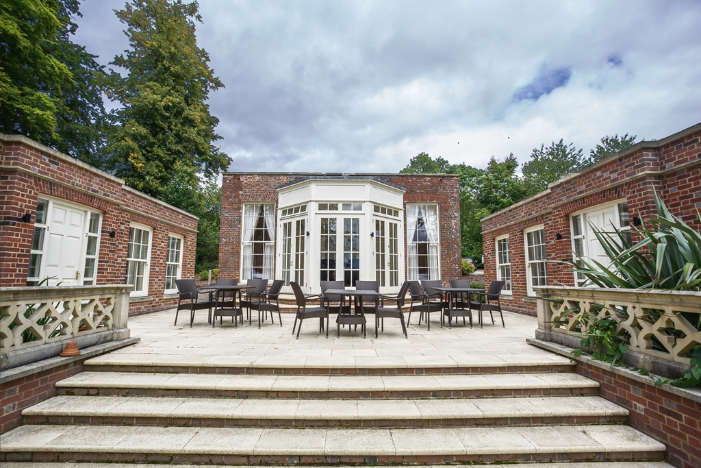 Range of accommodation choices, this is the Summer House, next to the manor