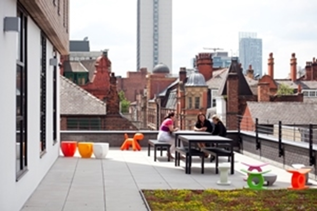 Roof Terrace - northern quarter