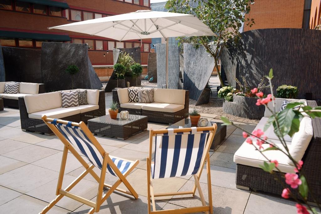 Roof garden St. Pancras