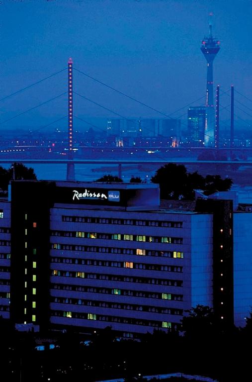 Radisson Blu Scandinavia Hotel, Dusseldorf