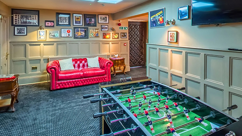 The Rock Bar Games Room