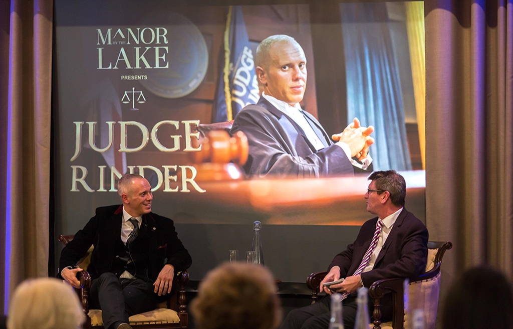 Creative Events - A evening with Judge Rinder