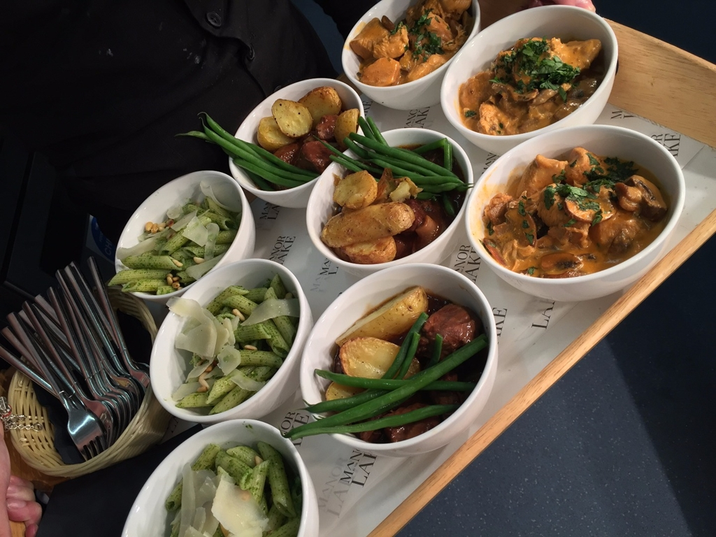Creative Delegate Catering - Bowl Food